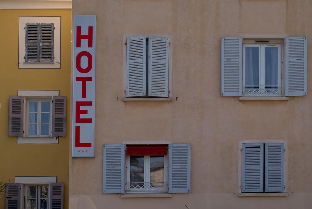 Hotel der Extraklasse in Adjaccio: Leica M mit Summicron 35 mm @ 4.0
