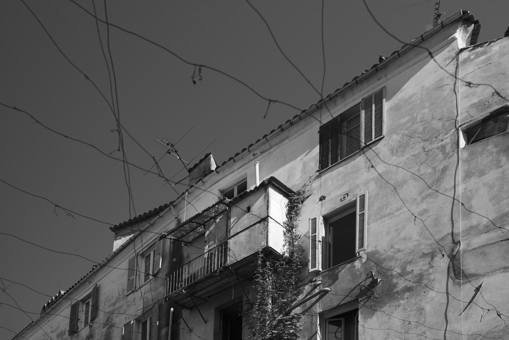Fassade am Hafen: Leica M mit Summicron 35 mm @ 2.0