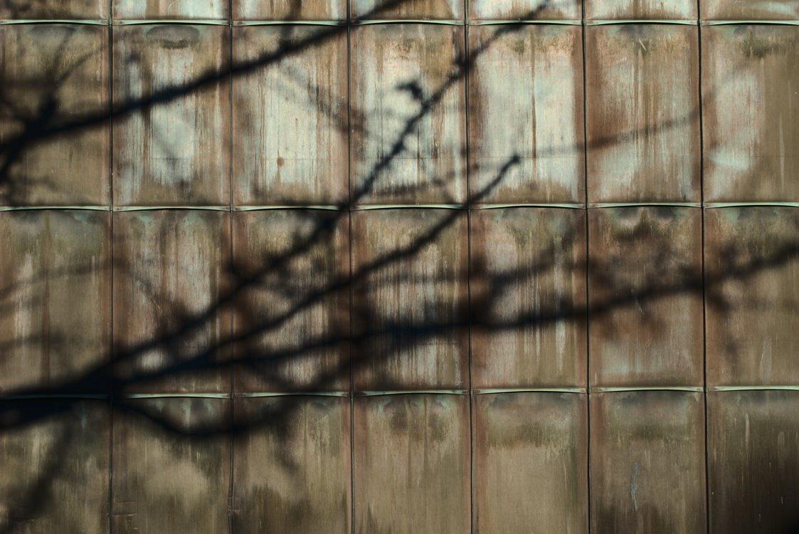 Strukturierte Wand #1 - Fotografiert mit der Leica M und dem Summilux-M 50 mm @ 4.0.