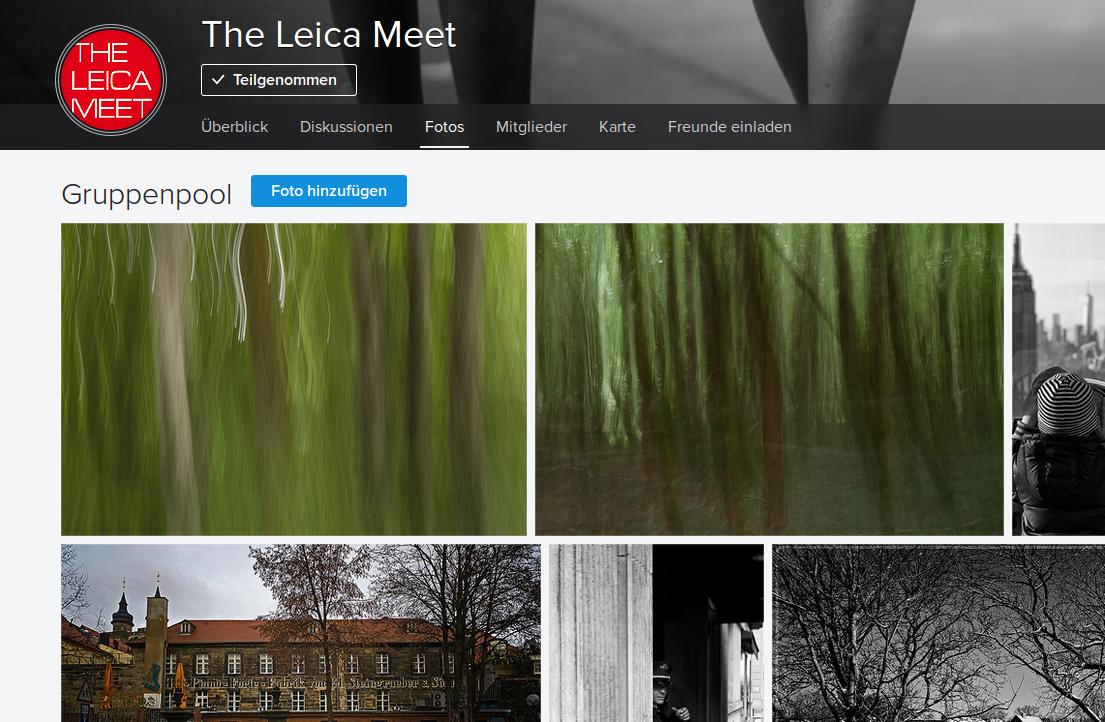 """Erstmals Veröffentlichung in """"The Leica Meet""""."""