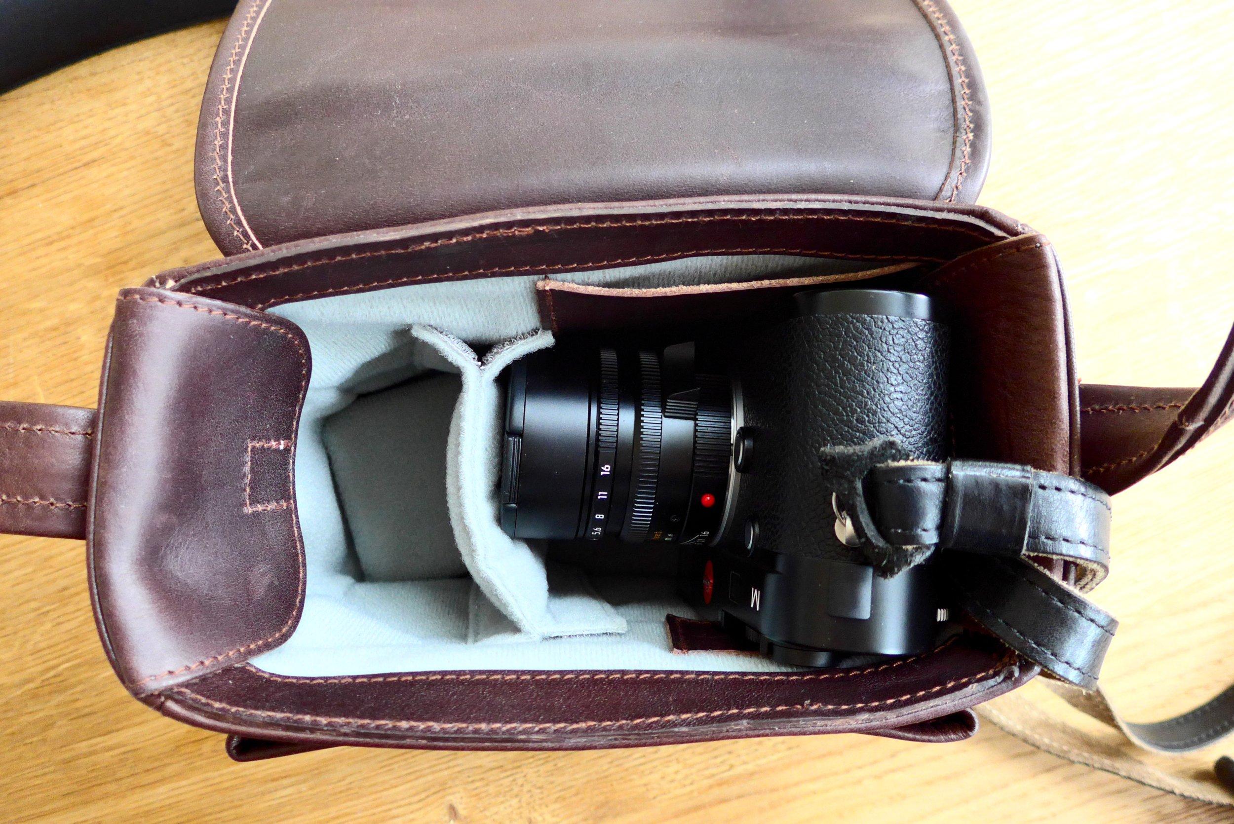 Freie Kamera sitzt